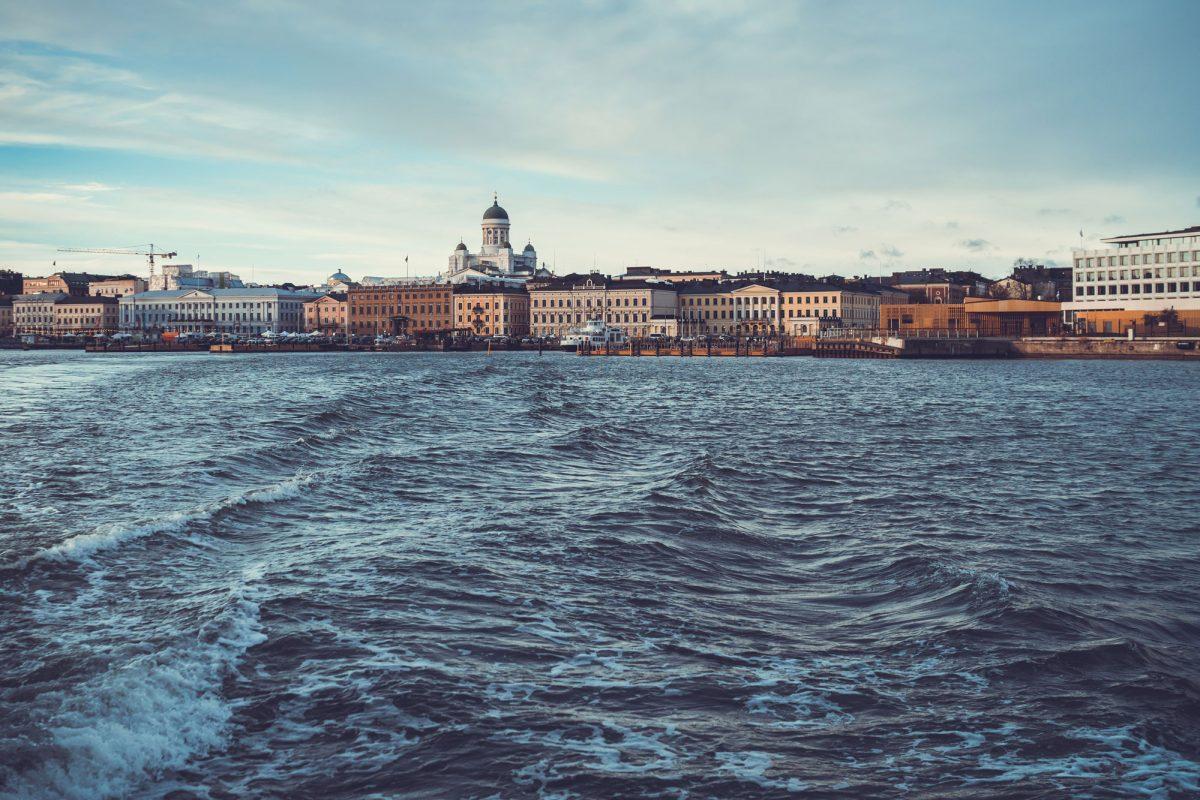 John Sechrest in Helsinki
